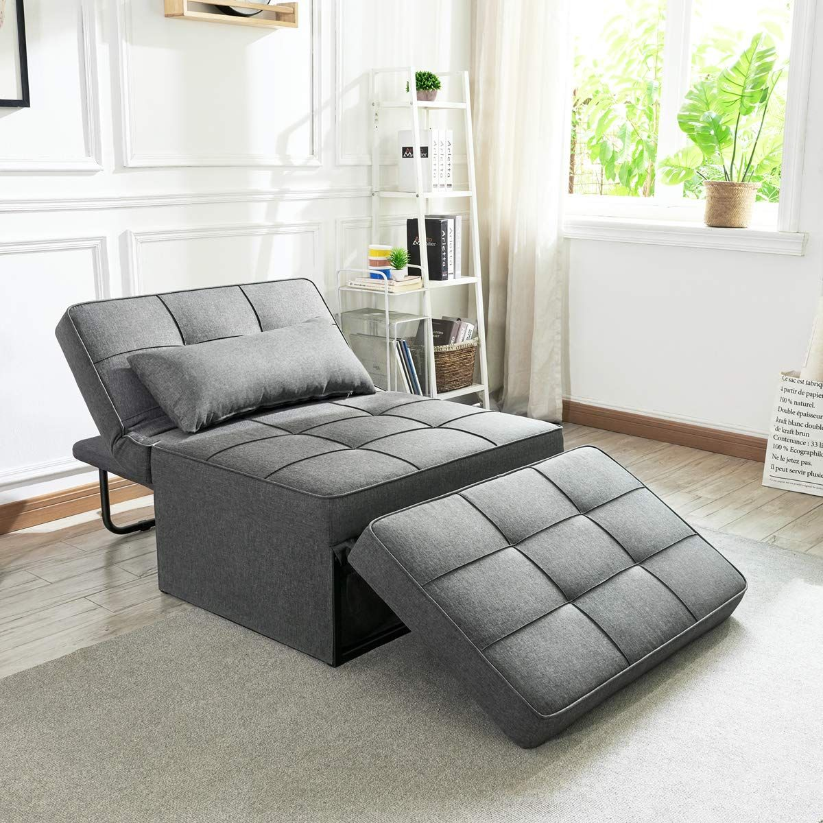 Vonanda Sofa Bed Folding Single Sleeper Chair Modern