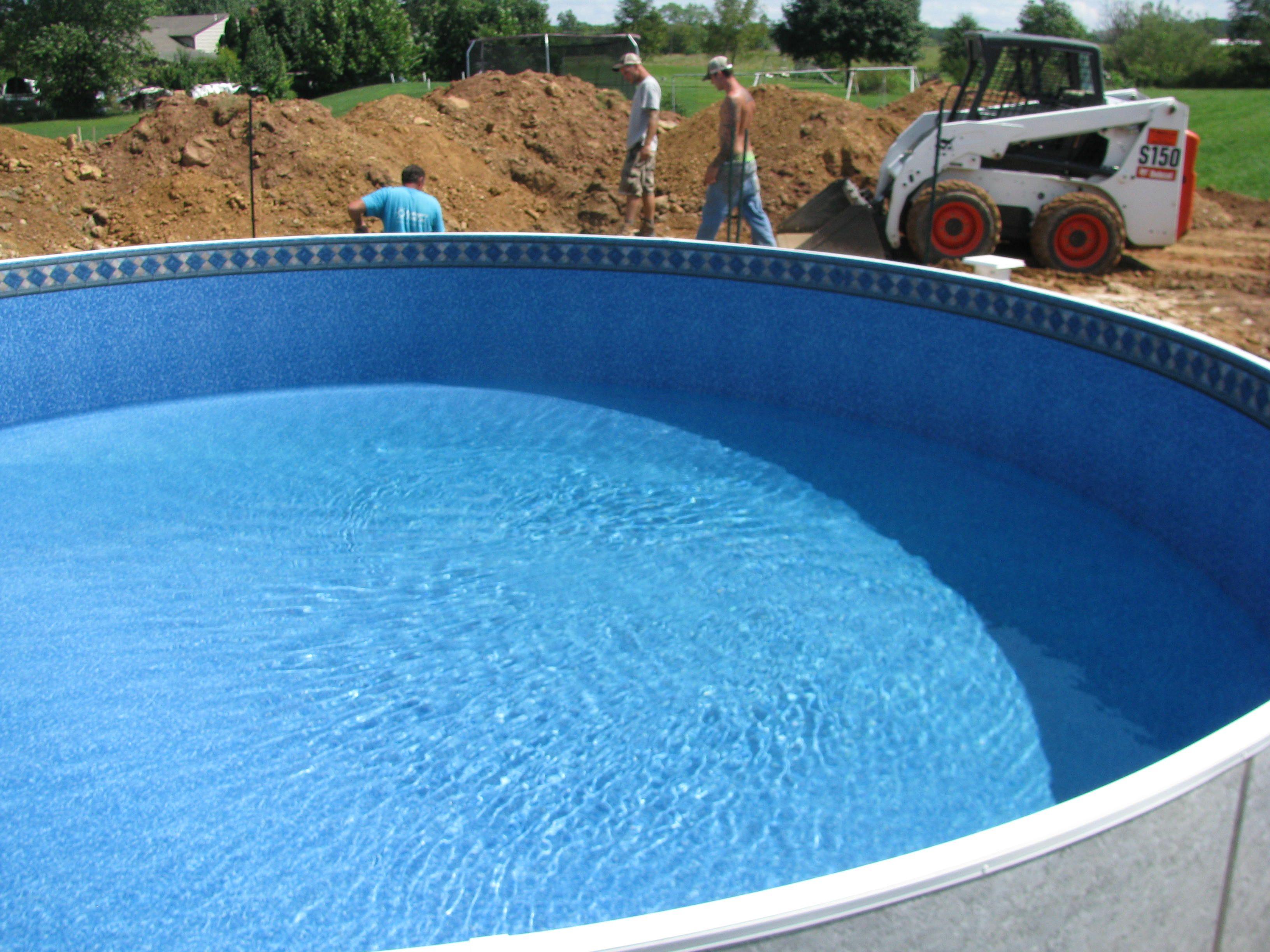 back filling the radiant pool | pool | pinterest