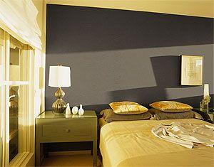 grijs en okergeel | WOON: slaapkamers | Pinterest | Master bedroom ...