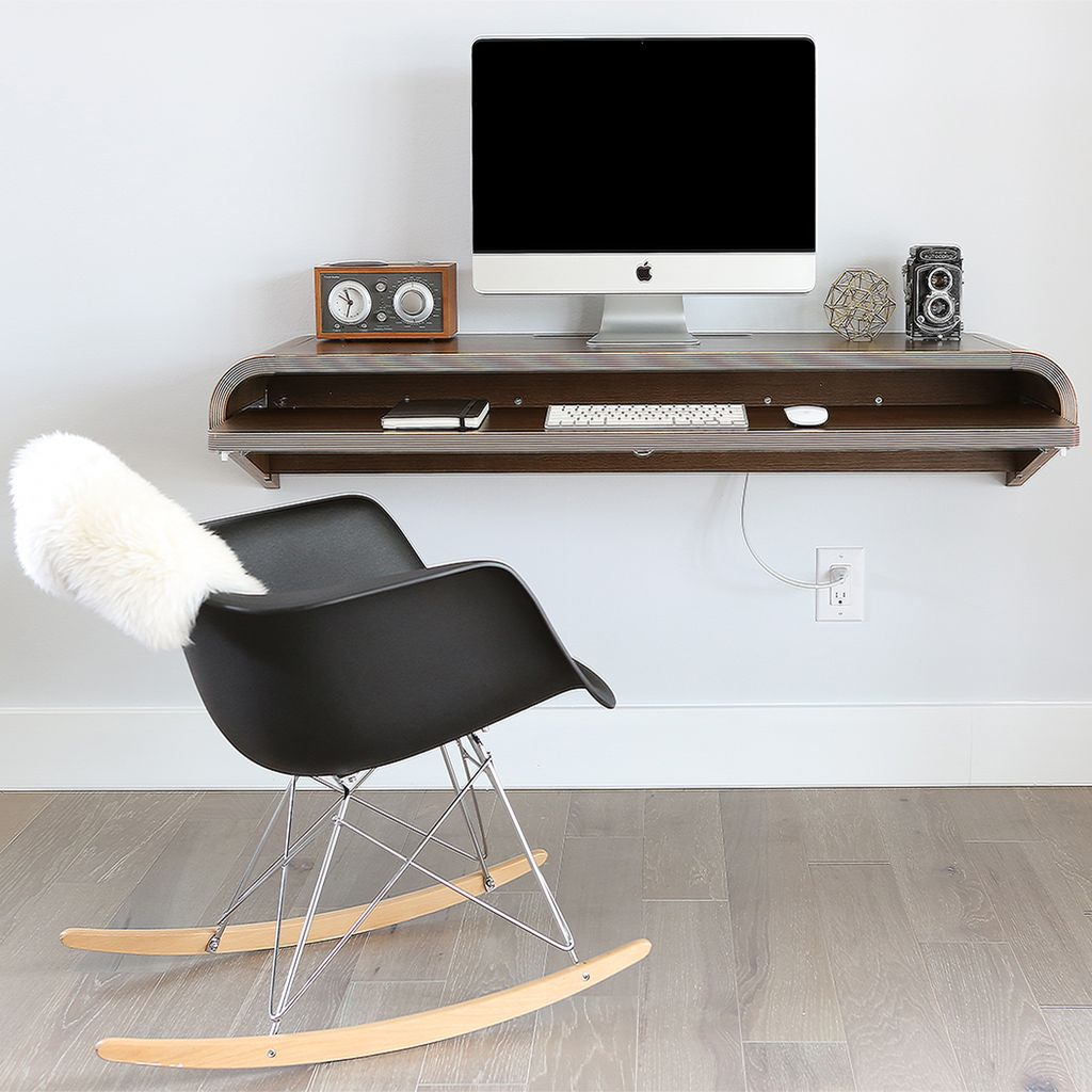 20 Off On Wall Desks Use Code 2017p320 Limited Time Offer Space Saving Sleek Wall Desk From Orange22 An Floating Desk Minimal Wall Desk Minimal Workspace