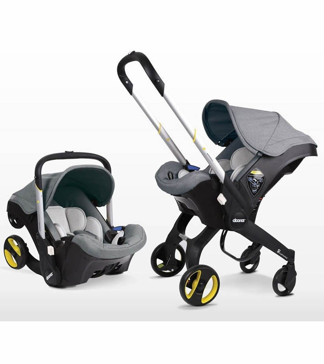 The versatile Doona Infant Car Seat is a complete travel system that