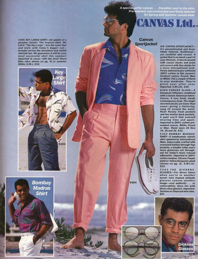 Image Result For 80s Men Fashion Catalogue 30th Birthday