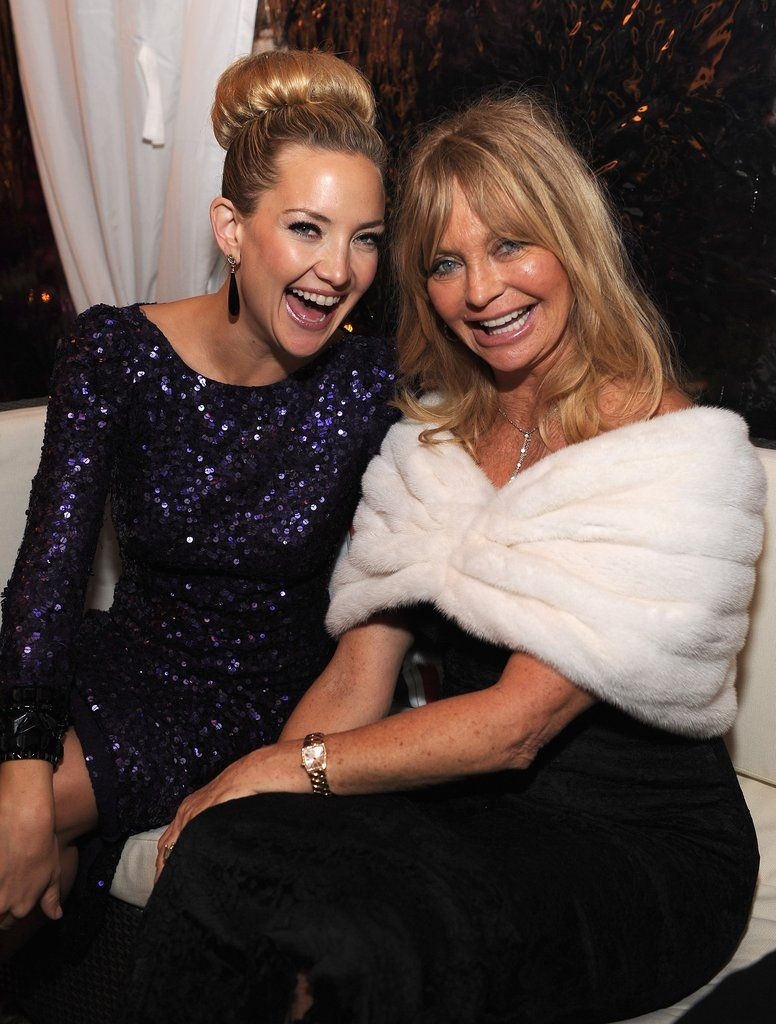 Goldie Hawn and kate hudson famous moms celebrity mom motherhood