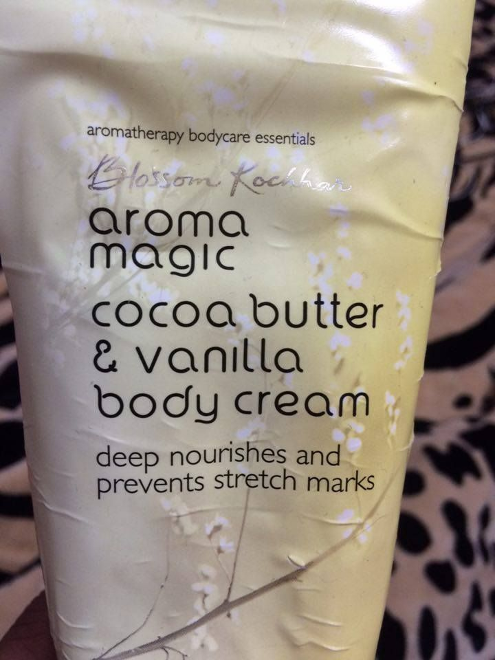 Blossom kochar cocoa butter and vanilla body cream review