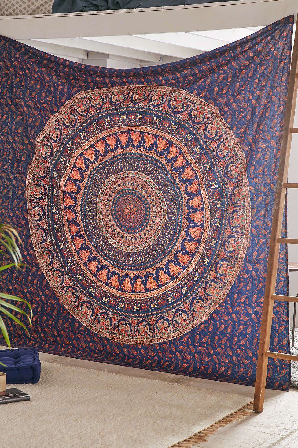 Urban outfitters bedroom tapestry - Dorm Room Magical Thinking Logan Medallion Tapestry On Sale At Urban Outfitters