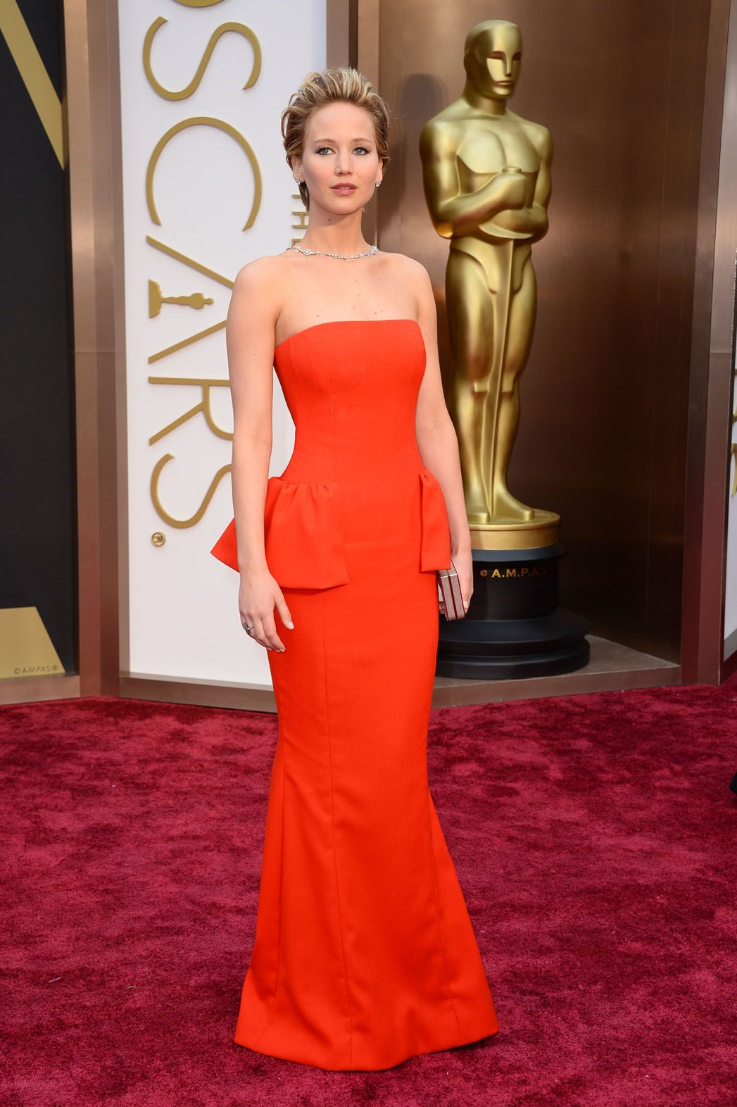 Jennifer Lawrence in Dior Couture Oscars 2014 | Nice ...