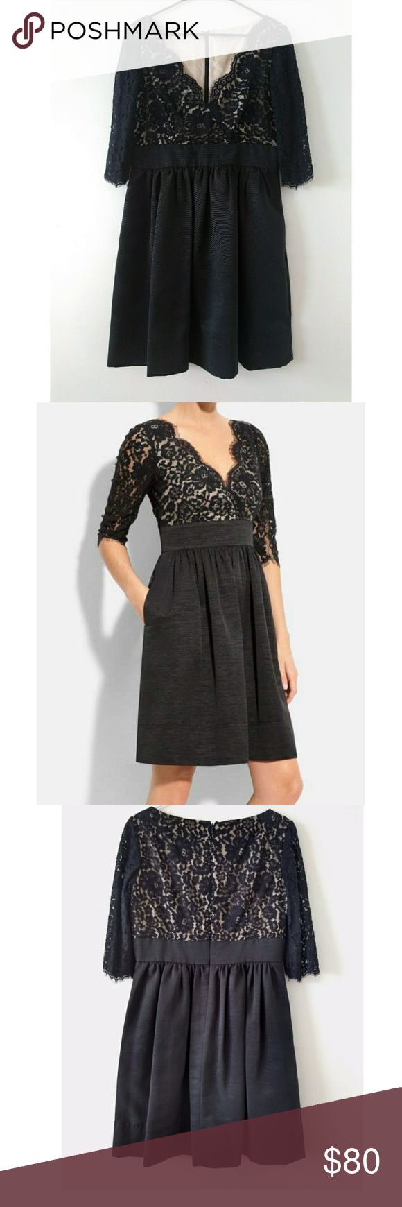Eliza j black lace dress in my posh picks pinterest