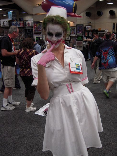 c6b9a7ce04342 female joker nurse uniform. Find this Pin and more on Cosplay/ costumes ...