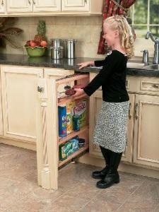 6 Inch Base Filler Organizer 432 Bf 6c Kitchen Cabinet Remodel Rev A Shelf Base Cabinets