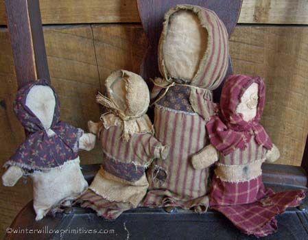 Gathering of Stump Dolls