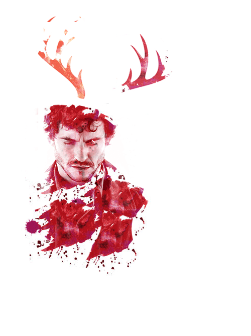 Will Graham Hannibal There Is Such Beautiful Fan Art For This Show Hannibal Series Hannibal Tv Show Hannibal