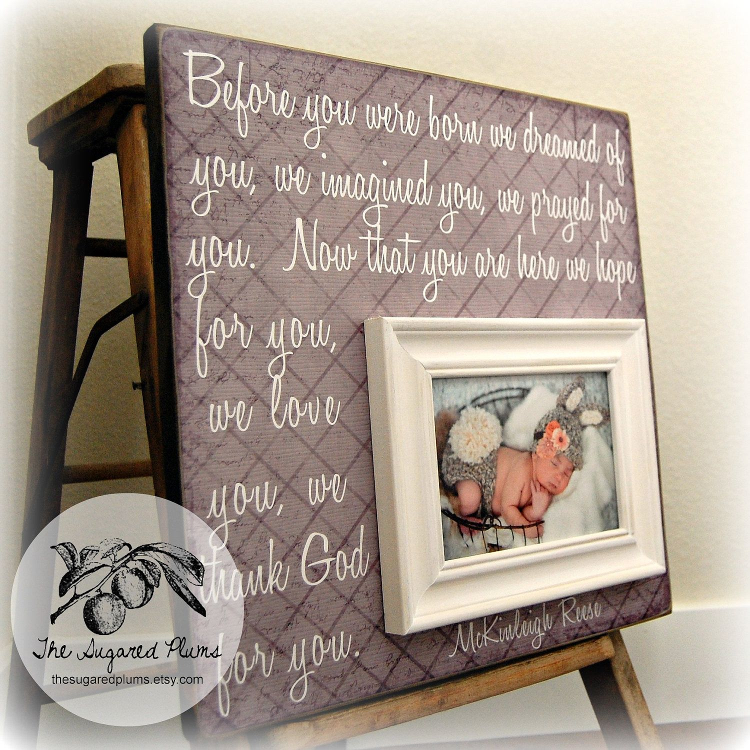 Personalized baby picture frame images craft decoration ideas baby picture frame baby frame personalized baby frame baby wall baby picture frame baby frame personalized negle Image collections