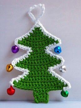 15 Free Christmas Tree Applique Crochet Patterns Christmas Crochet Christmas Applique Patterns Crochet Christmas Trees