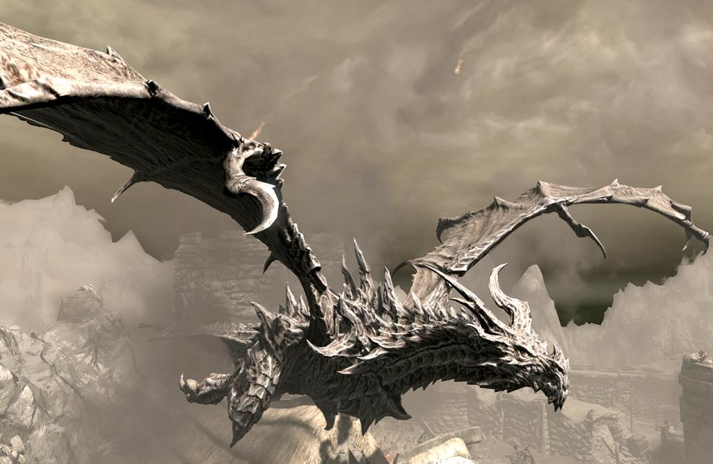 Alduin Skyrim Elder Scrolls Fandom Powered By Wikia Skyrim Skyrim Dragon Elder Scrolls