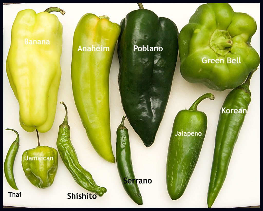 Learn To Recognize Diffe Pepper Varieties Their Heat Levels