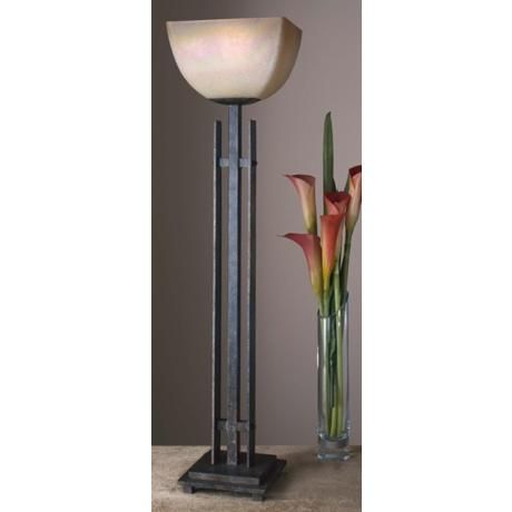 Lineage Collection Uplight Table Torchiere Lamp 78104 Lamps Plus Torchiere Lamp Lamp Rustic Table Lamps