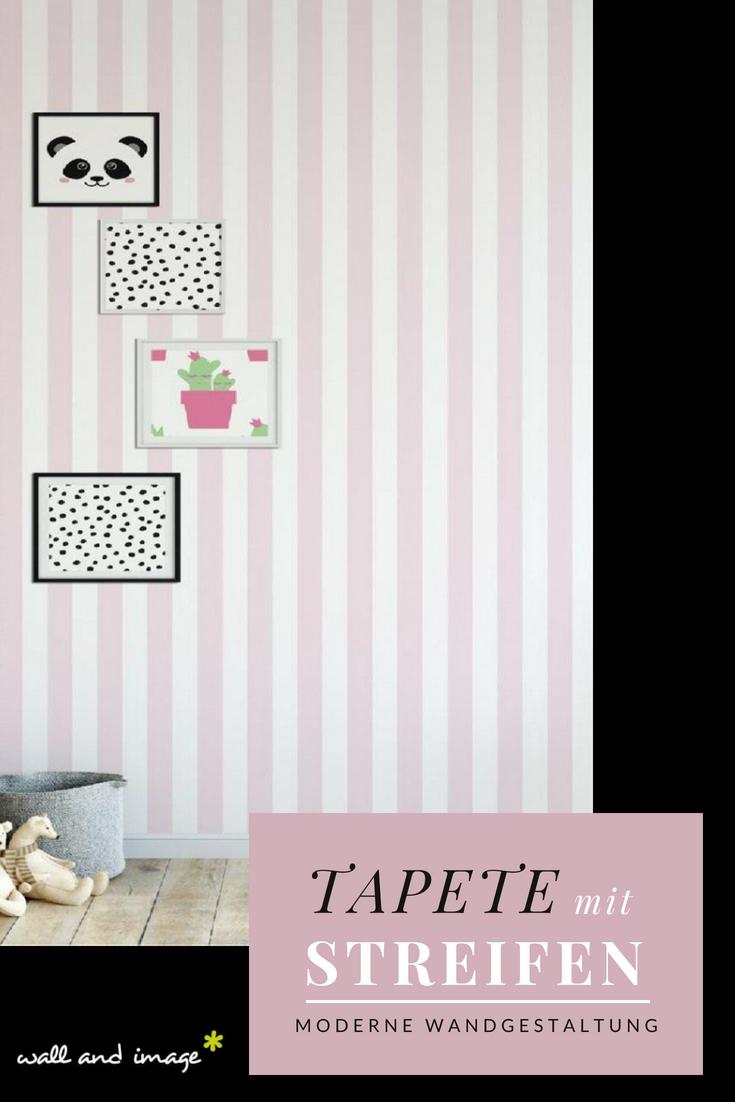 Fabulous Stripe Col 12 Mit Bildern Gestreifte Tapete Rosa Gestreifte Wande Tapeten