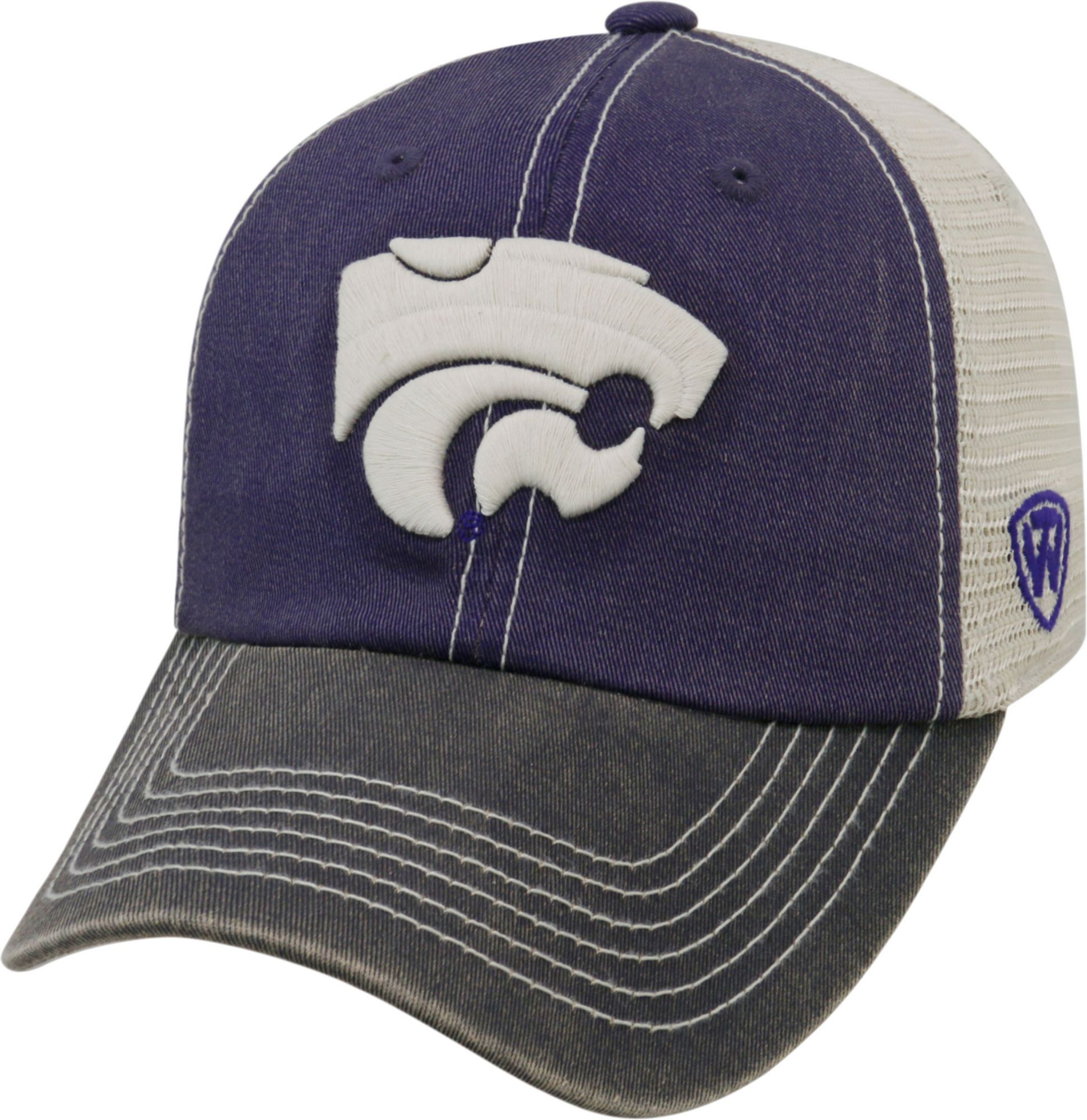 newest collection b0cbe 3af13 Top of the World Men s Kansas State Wildcats Purple White Black Off Road  Adjustable Hat, Team
