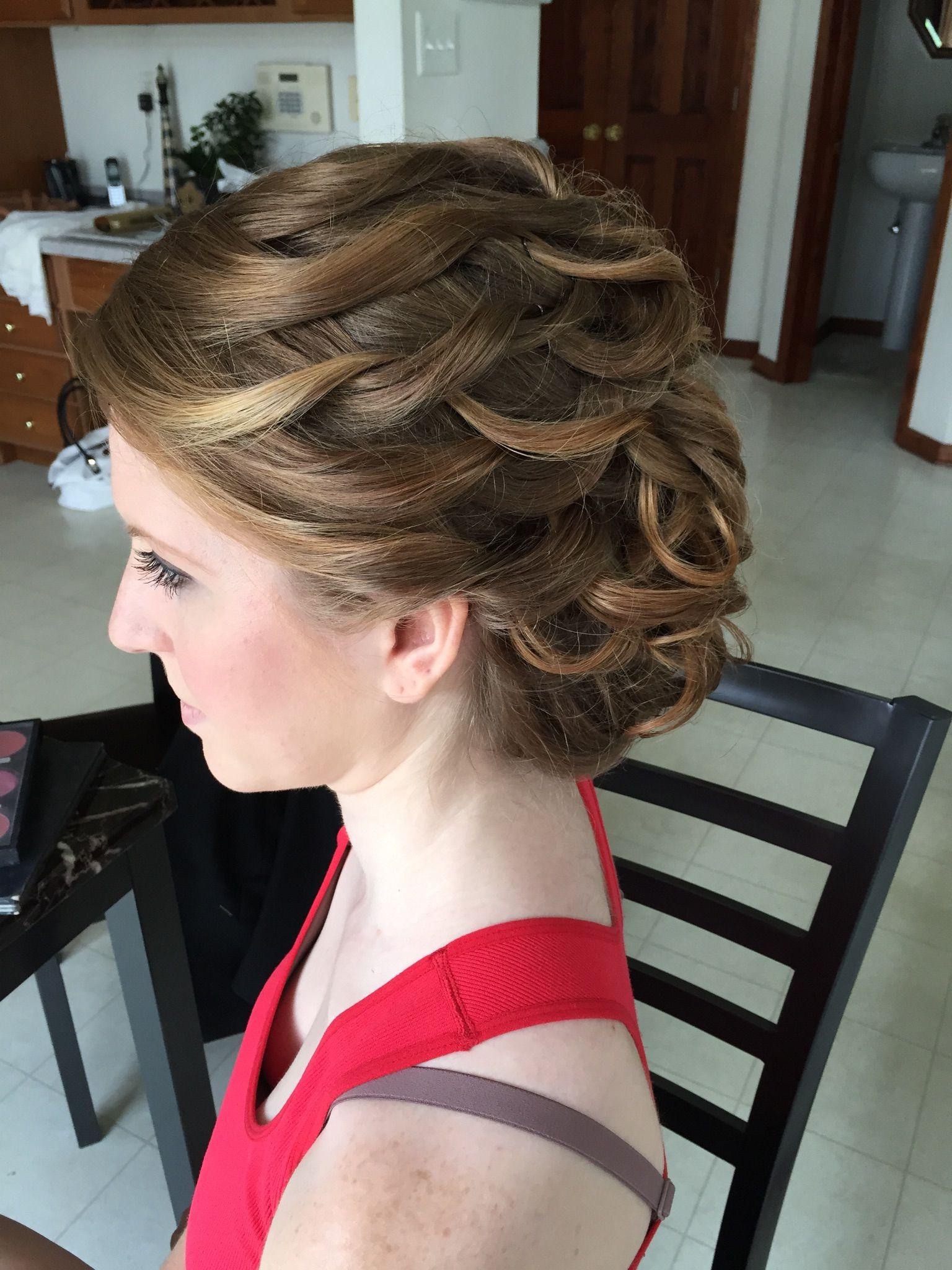 Bella Angel Wedding Hair Makeup Philadelphia South Jersey Updo Hairstyle