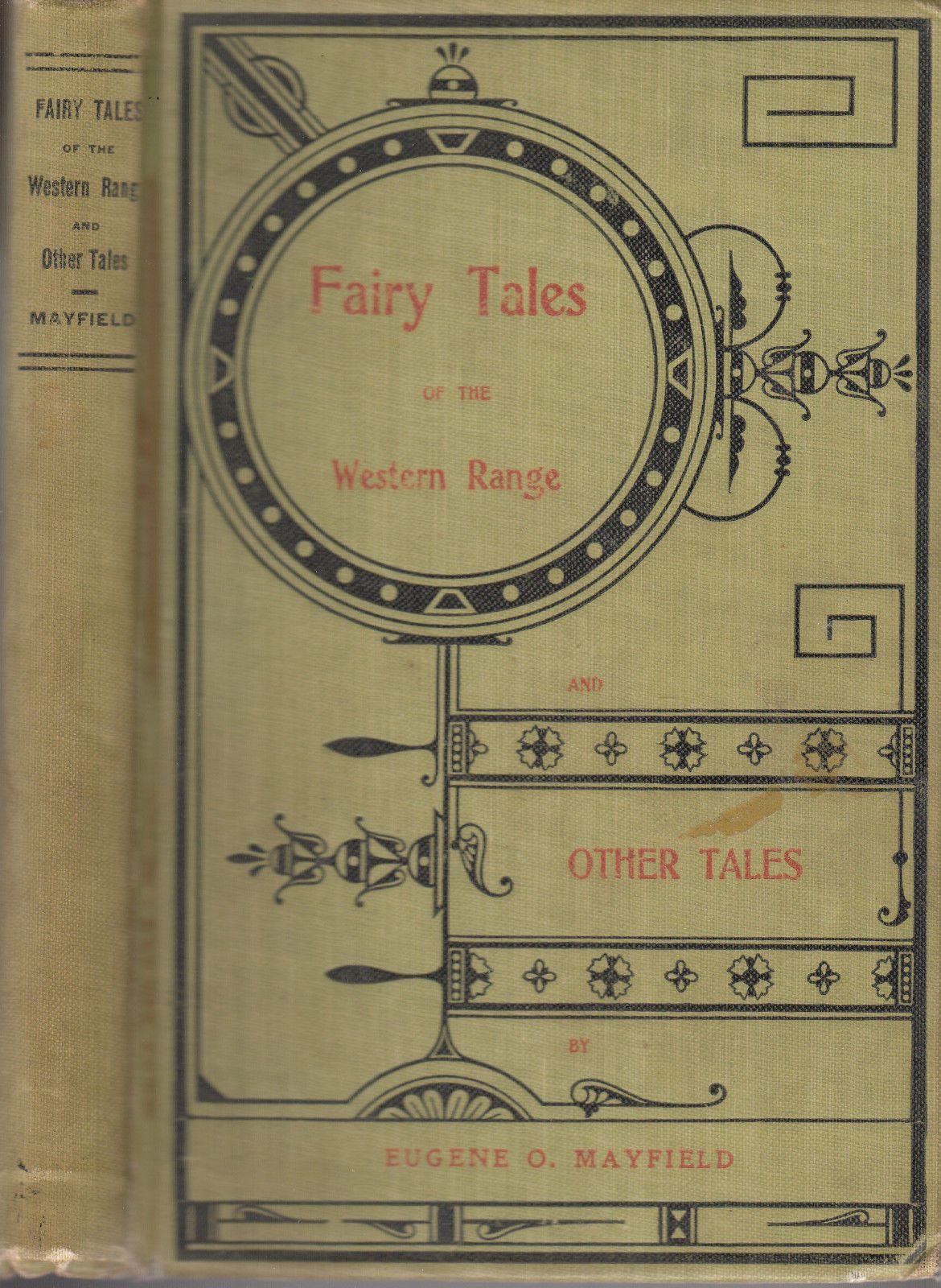 Fairy Tales of The Western Range Eugene O Mayfield 1902 Signed | eBay
