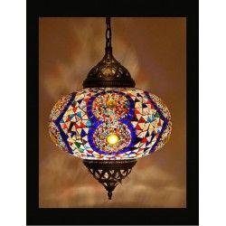 Turkse Kroonluchter Mozaiek Rood 3 Bollen Turkse Lampen Met Afbeeldingen Turkse Lampen Hangende Lampen Hanglamp