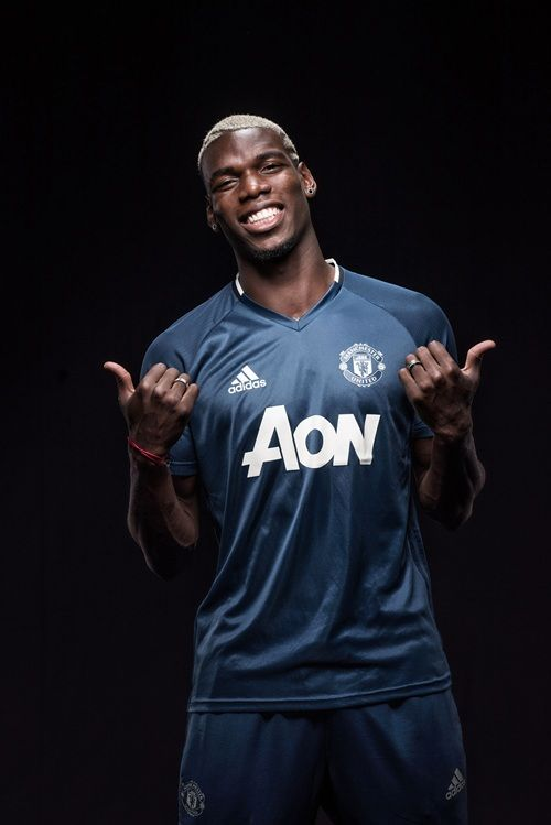Most Good Looking Manchester United Wallpapers Galleries Gallery: Paul Pogba in Manchester United kit - Official Manchester United Website