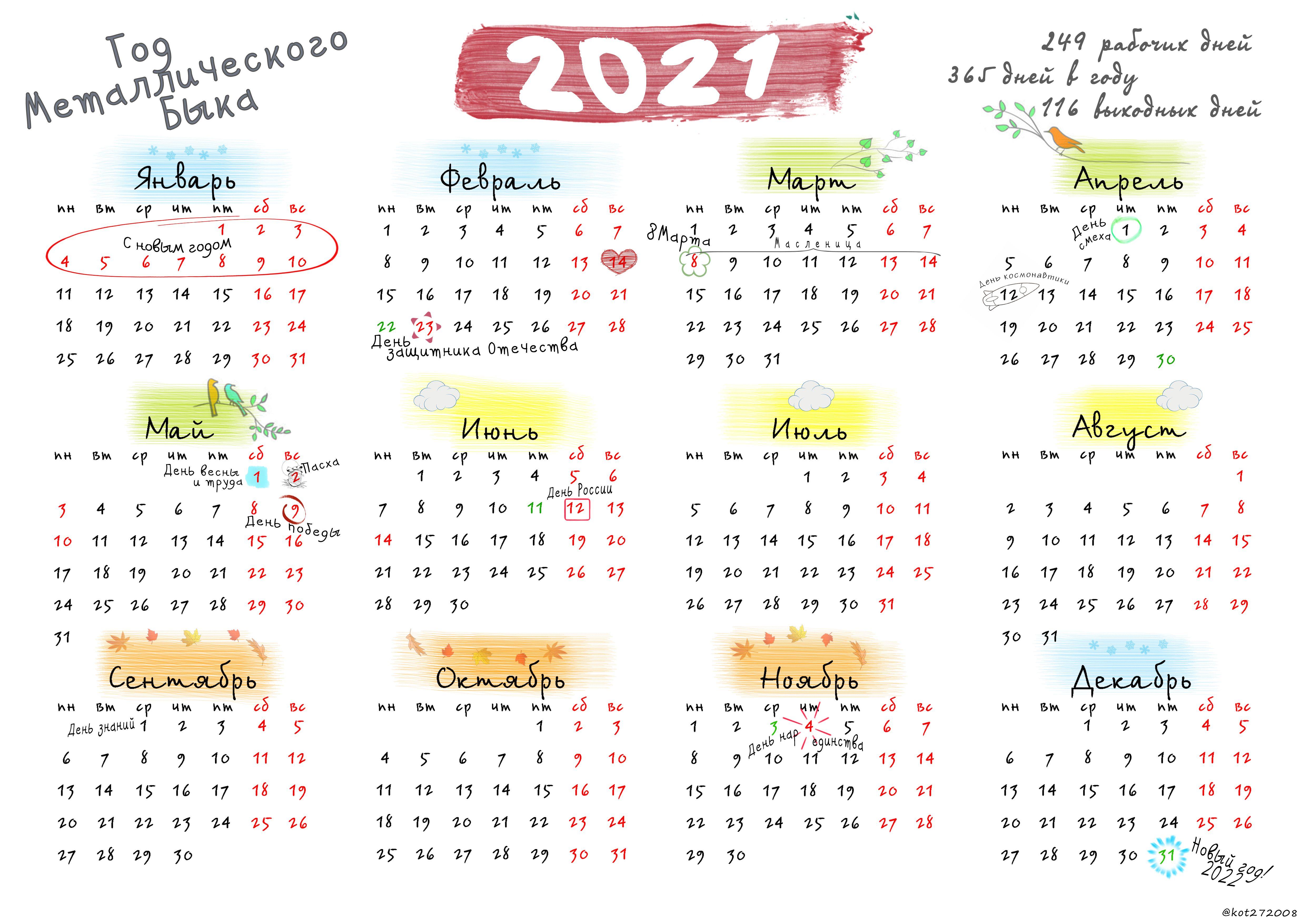 (Скачать можно по ссылке) в 2020 г | Календарь, Шаблоны ...