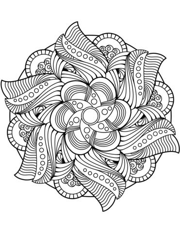 Resultado De Imagem Para Flower Mandala Mandala Design Lotus Mandala Design Mandala Zum Ausdrucken