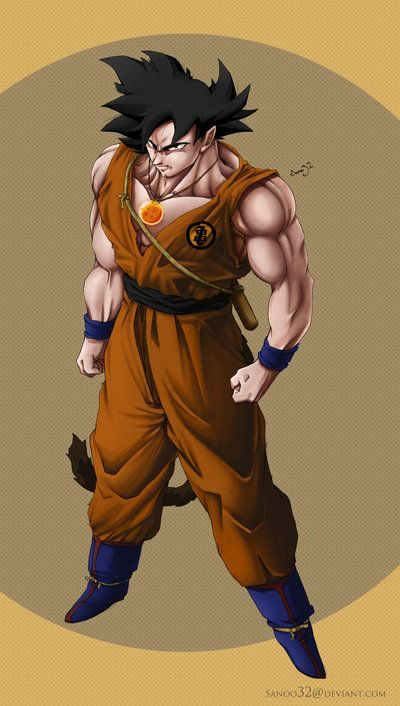 Adult Dragonball Goku by *Sanoo32 on deviantART