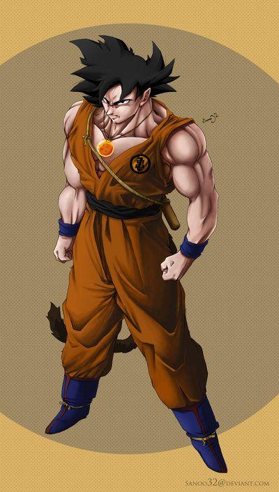 Adult Dragonball Goku by *Sanoo32 on deviantART