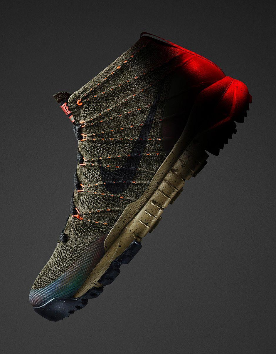 watch c2862 de1f6 Nike Flyknit Chukka Sneakerboot