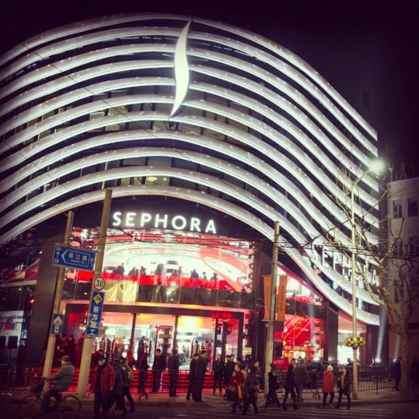 #Didyouknow? We recently opened our largest #Sephora store ...