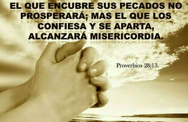 Proverbios 28:13