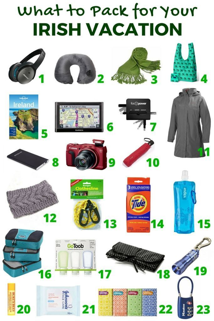 Wondering what to pack for your trip to Ireland? Pack these essential travel items for your vacation to Ireland. #style #shopping #styles #outfit #pretty #girl #girls #beauty #beautiful #me #cute #stylish #photooftheday #swag #dress #shoes #diy #design #fashion #Travel