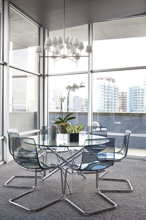 Acrylic Tobias Ikea Ghost Chairs Http Lanewstalk Com Wonderful Design From Ghost C Modern Glass Dining Table