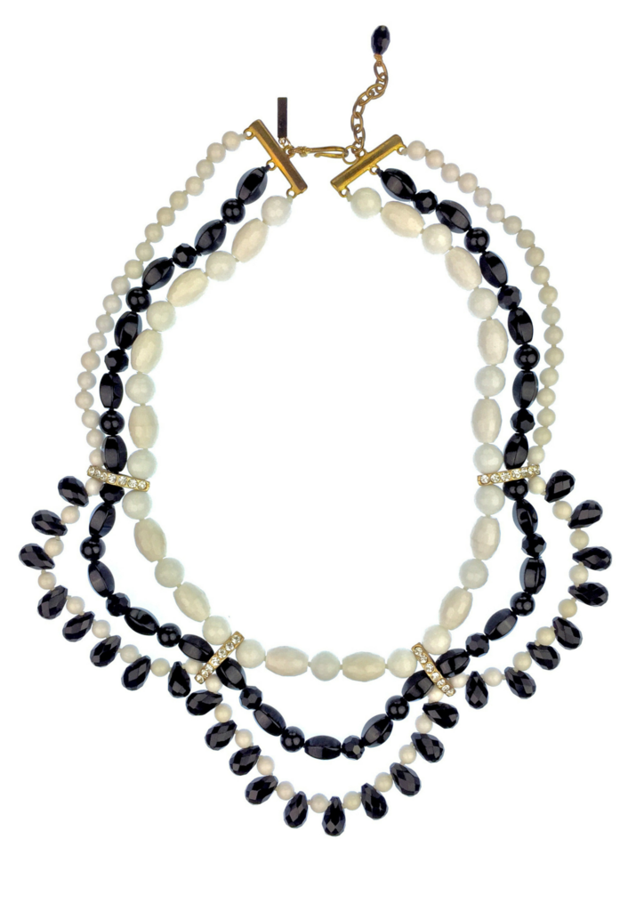 Black and White Bravado Necklace Necklaces JARED JAMIN Jared