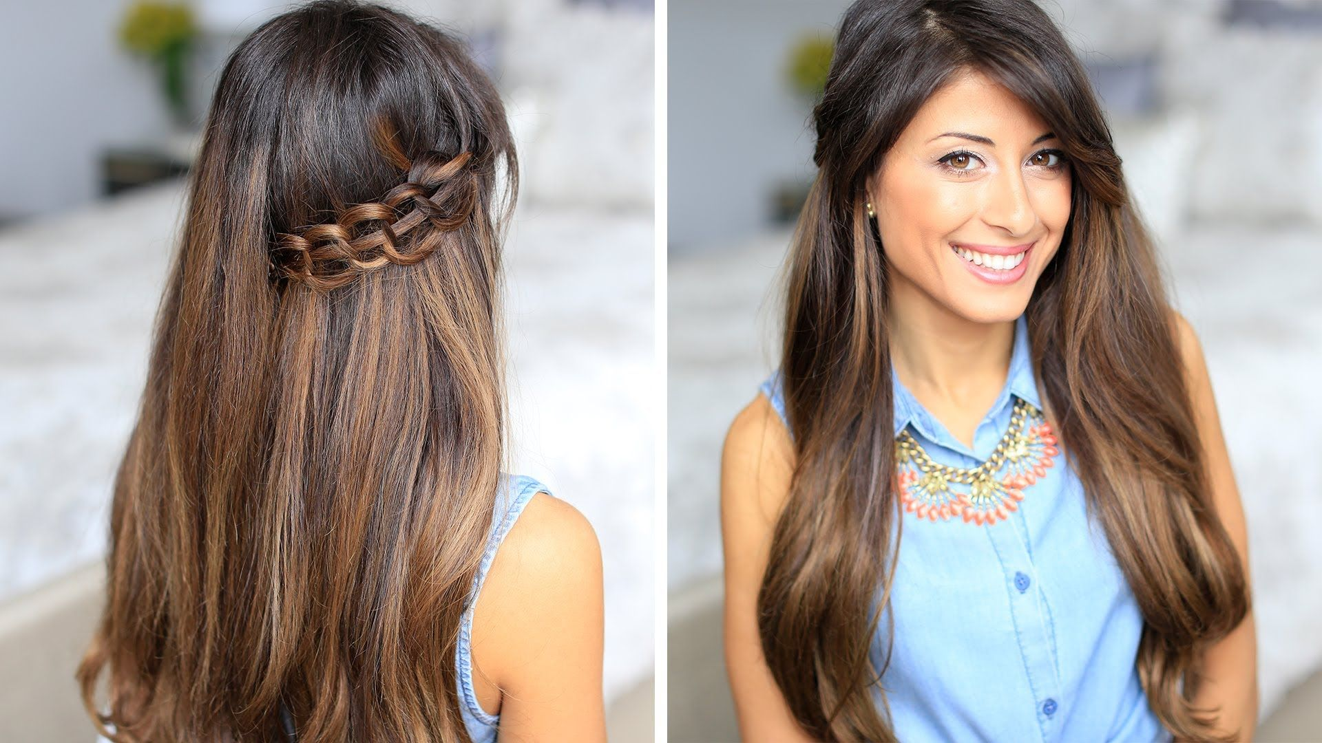 How to Stitch Braid Hair Tutorial Seems easy enough to try and