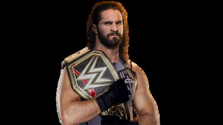 Seth Rollins Wwe Champion 2017 V2 By Lunaticdesigner Wwe Champions Champion Seth Rollins