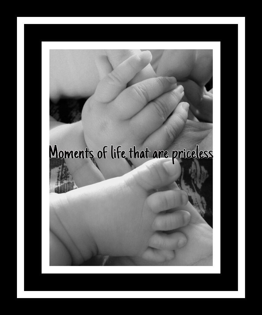 Pictures of your little ones feet and hands
