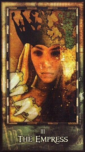 archeon tarot in 2020  empress tarot empress tarot card