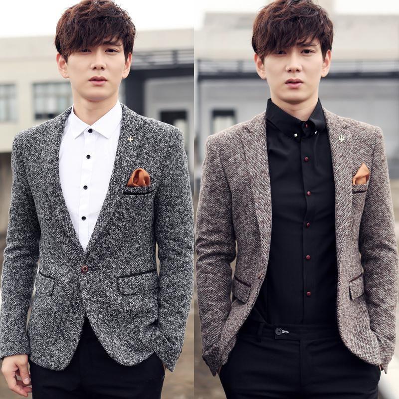 f239d0cfaa804 2018 New Men Fashion Brand High-quality Blazer Casual Business Suit Wedding  Banquet Suit Jacket