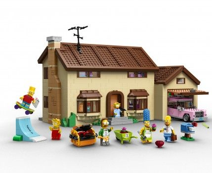 Los Simpsons llegan a Lego