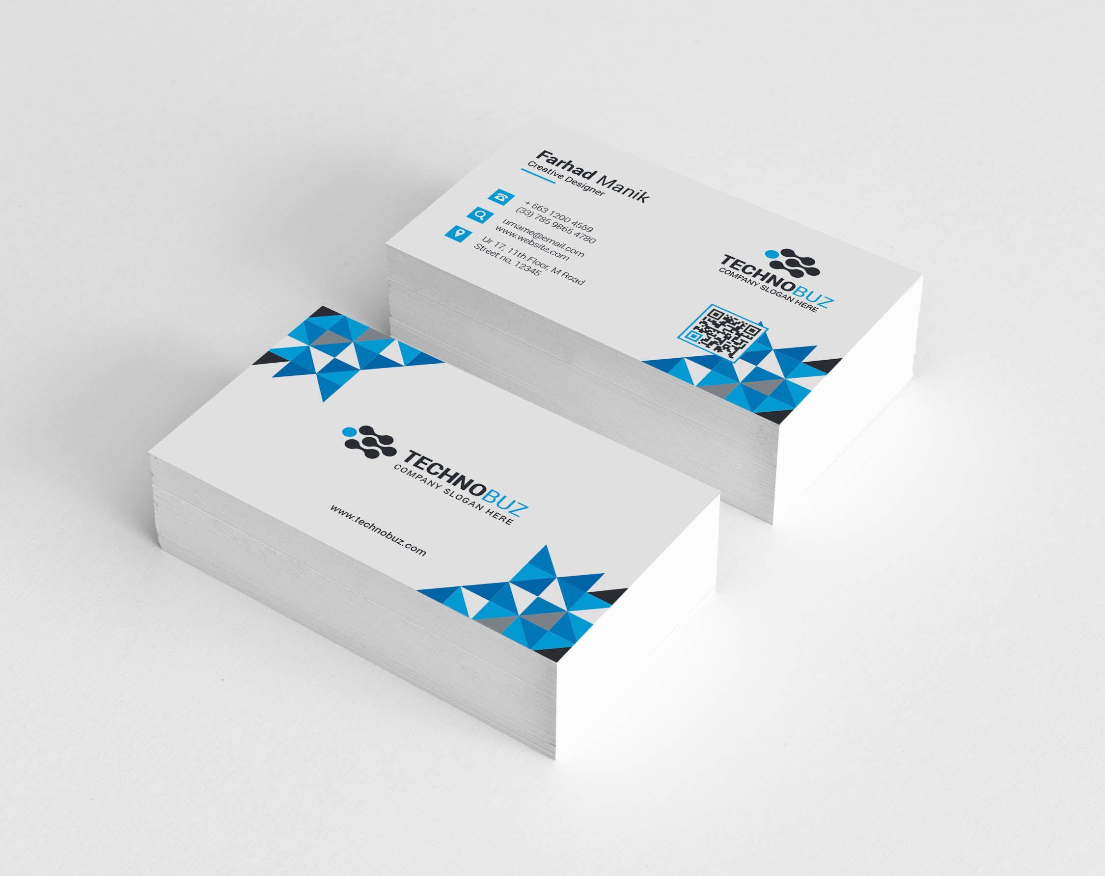 Hesperus Creative Corporate Business Card Template Graphic Templates Corporate Business Card Business Card Template Free Printable Business Cards