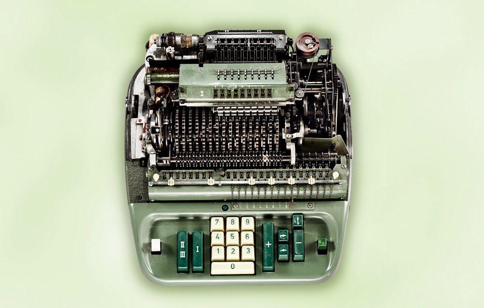The beautiful innards of mechanical adding machines