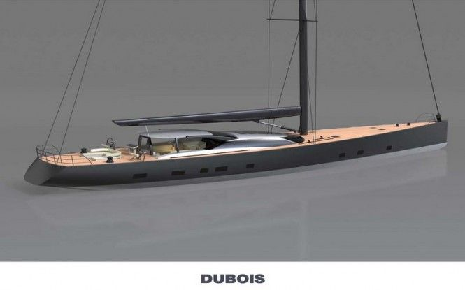 Dubois designed 46m sailing yacht Hull 3067 by Vitters