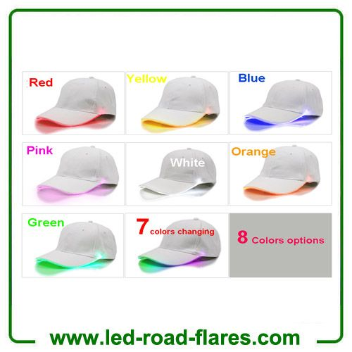 2c8d30663280a China Top Led Light Up Hats Luminous Sports Caps Led Baseball Hats Light Up  Caps With 8 Colors Manufacturers Suppliers Factory