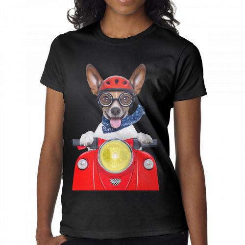 motorbike Women's Short Sleeve T-Shirt [Nov-women-1208] – $15.99