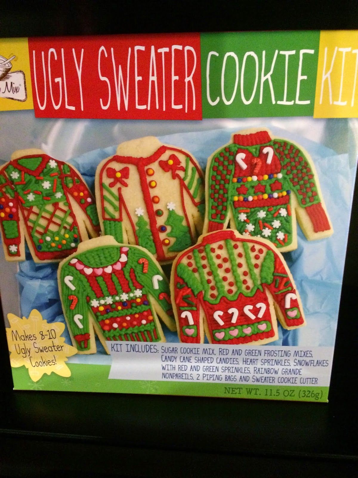 Ugly Christmas Cookie Kit From Family Dollar Plastic Ninja
