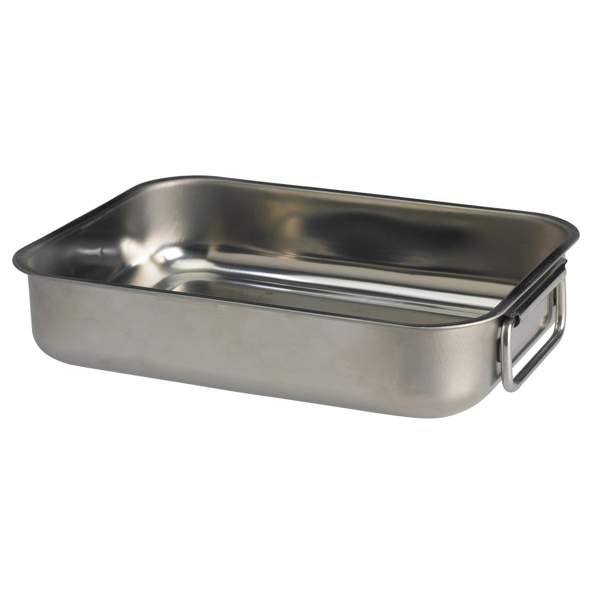 Koncis Roasting Pan Stainless Steel 10 X7 Shoe Cabinet Roasting Pan Hemnes Shoe Cabinet