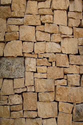 Brown Stone Piled Brick Wall Texture Backdrop    Wall
